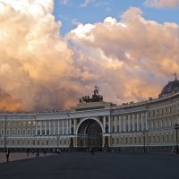небо над Дворцовой :: Елена