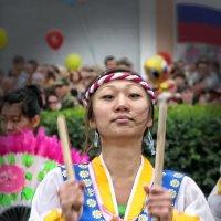 Корейский танец с барабанами. :: Виктор Никаноров