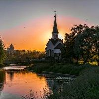 Вечер в парке Героев :: Валентин Яруллин