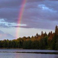 Радуга над озером :: Любовь