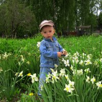 На прогулке. :: Мила Бовкун