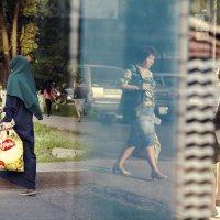 Женщина и сумка :: Наталья Одинцова