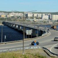 Новый мост через р.Колу в Мурманск :: Светлана Кажинская