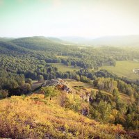 Гора на реке Ик. Башкортостан :: Олеся Парамонова