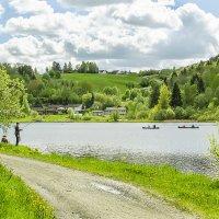 Весенняя река... :: Aleksandrs Rosnis
