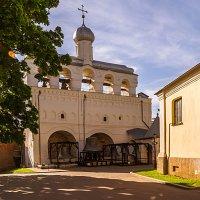 Кремль Великого Новгорода, звонница Софийского собора :: Владимир Демчишин