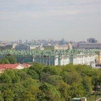 Санкт-Петербург с Исаакиевского собора :: vasya-starik Старик