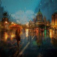 ноябрьский дождь... :: Эдуард Гордеев