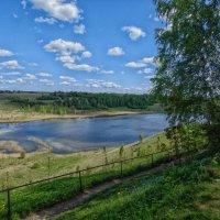 Городищенское озеро в Изборске :: Nikolay Ya.......