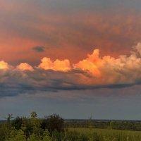 Закатные облака :: Виктор Четошников