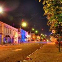 Ночной город Руза ( 1328 г.) :: Андрей Куприянов
