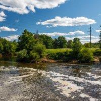Красоты природы - вид с плотины. :: Андрей Гриничев
