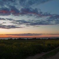 Закат на Плещеевом озере :: Дмитрий Дербенев