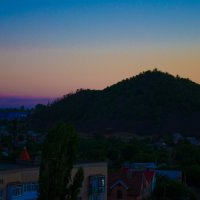 Закат с балкона :: Ольга Штанько