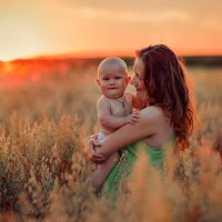 с мамой :: Ольга Лихонина