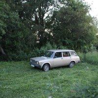 Моя машина. :: Василий Капитанов