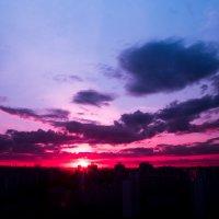 Марьинский закат :: Андрей Кузнецов