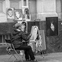 Уличный художник :: Вадим Sidorov-Kassil