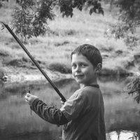 юный рыбак :: Олька Никулочкина