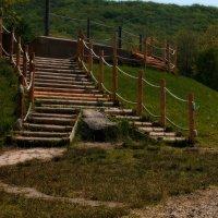 Лестница в .... :: Жанетта Буланкина