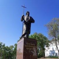 Памятник Андрею Первозванному :: Вячеслав Криволуцкий
