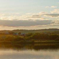 Вечер на пруду. :: petyxov петухов