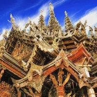 Храм истины,Тайланд. :: Евгений Подложнюк