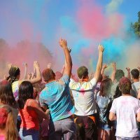 Фестиваль красок Холли :: Виктория Зайцева