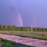 двойная радуга в Кырныше :: Сергей Говорков