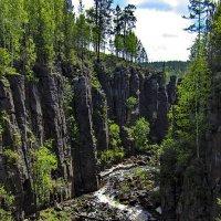 Ущелье реки Ук :: Анатолий Иргл