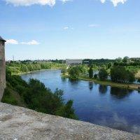 Река Нарва :: Елена Павлова (Смолова)