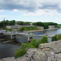 Мост соединяющий Нарву и Ивангород :: Елена Павлова (Смолова)