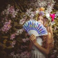 Загадки феи цветов :: Анна Костецкая