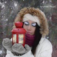 Зимняя Сказка :: Окрылённый Ангел