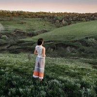 Провожающая солнце :: Дмитрий Бегма