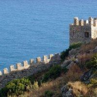 Крепостные стены. :: Чария Зоя