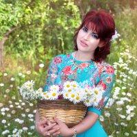 На ромашковом поле... :: Райская птица Бородина