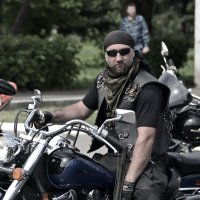 Русский мотоциклист :: Сергей F