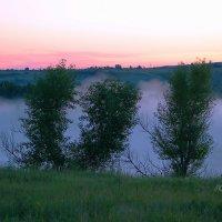 Синий туман... :: Валерий Лазарев