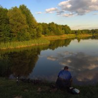 Гляжу в озера синие :: Андрей Лукьянов