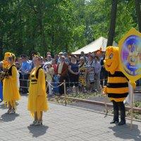 Фестиваль детского творчества,Золотая пчелка. :: владимир ковалев