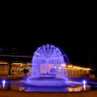 Ночной фонтан Будвы :: Александр Бойко