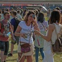 Всероссийский Фестиваль красок Холи :: Владимир Питерский