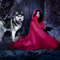Волк и Красная Шапочка :: Таня Грин