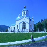 Деревенская церковь :: Анастасия Антонова