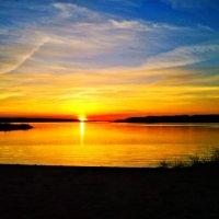 Закат. Можайское водохранилище. :: Екатерррина Полунина