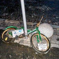 Реклама велопроката во Львове :: Богдан Петренко