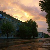 После сильной грозы 19.06.2015 :: Юрий Рачек