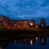 отражение ночного города :: Виктор Зенин