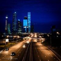 Evening in Moscow :: Фотограф Андрей Журавлев